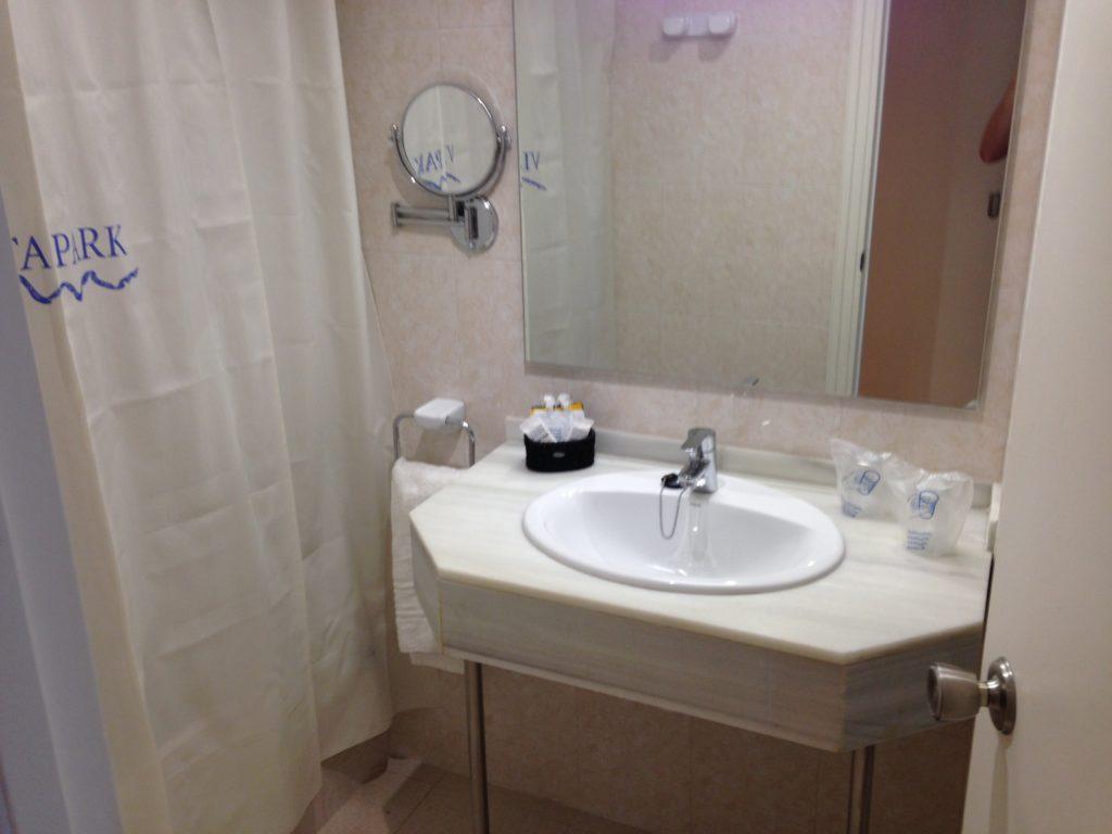 Badezimmer im Vista Park Hotel
