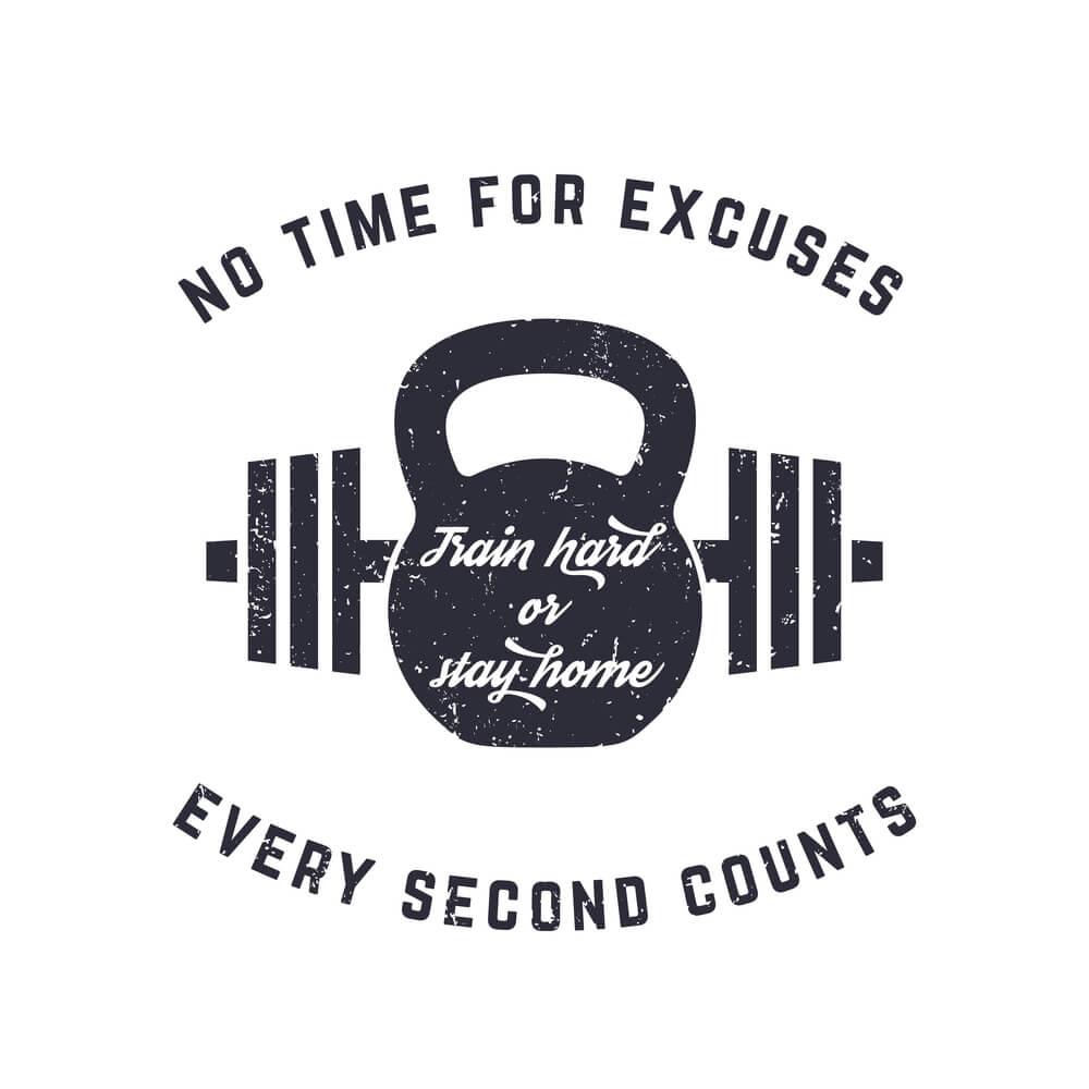 Fitness Motivation Spruch